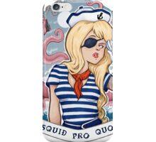 Squid Pro Quo iPhone Case/Skin