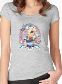 Squid Pro Quo Women's Fitted Scoop T-Shirt