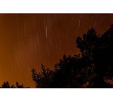 Circling Stars Photographic Print