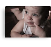 Lindsay (niece) Canvas Print