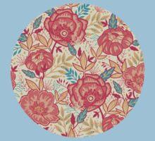 Bright garden pattern Baby Tee