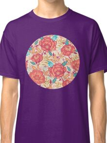 Bright garden pattern Classic T-Shirt