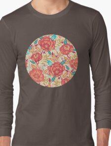 Bright garden pattern Long Sleeve T-Shirt