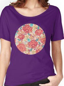 Bright garden pattern Women's Relaxed Fit T-Shirt