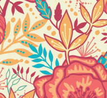 Bright garden pattern Sticker