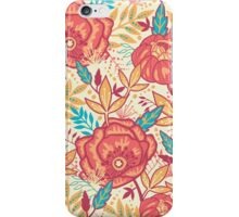 Bright garden pattern iPhone Case/Skin