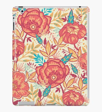 Bright garden pattern iPad Case/Skin