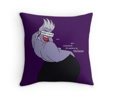 Keep Calm: Body Language Throw Pillow