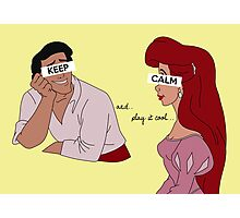 Keep Calm: Play it Cool Photographic Print