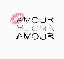Kiss Amour Mens V-Neck T-Shirt
