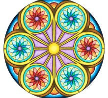 Portal Mandala - Print by TheMandalaLady