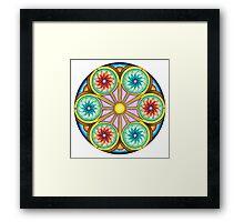 Portal Mandala - Print Framed Print