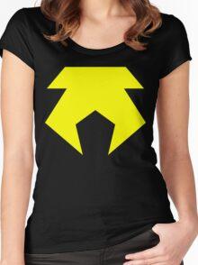 Metal Bending Police Women's Fitted Scoop T-Shirt
