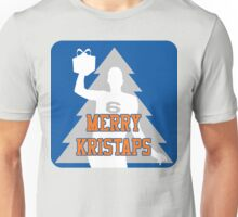 Merry Kristaps - Blue Unisex T-Shirt