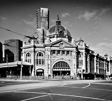 Flinders Street Station 2013 by Christine  Wilson Photography