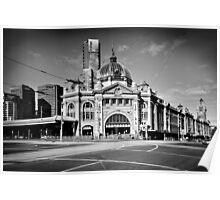 Flinders Street Station 2013 Poster