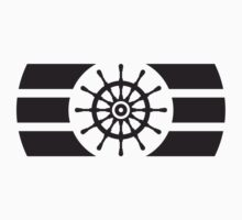 Ship Steering Wheel Logo by Style-O-Mat