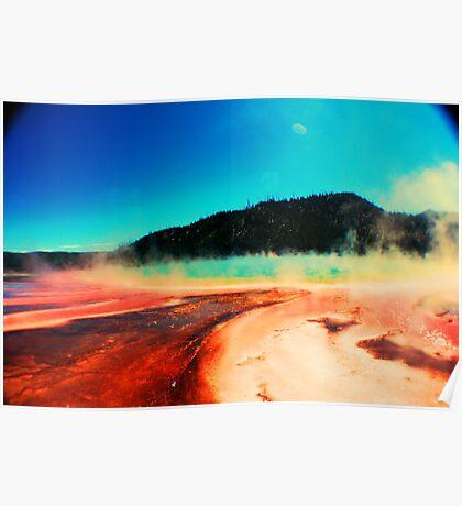 Sulfur pools  Poster