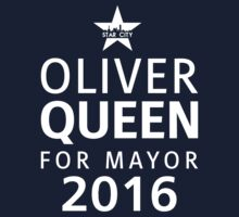 Queen for Mayor One Piece - Short Sleeve