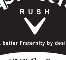 Phi Delta Theta Rush Shirt Sticker