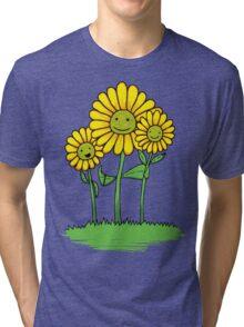 Flower Buds Tri-blend T-Shirt
