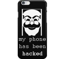 phone hacked mr robot iPhone Case/Skin