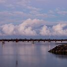 Bribie Island Bridge by Barbara Burkhardt