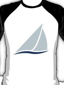 Sailing Boat Logo T-Shirt