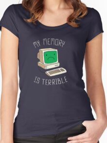 My Memory Is Terrible Women's Fitted Scoop T-Shirt