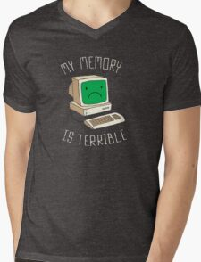 My Memory Is Terrible Mens V-Neck T-Shirt
