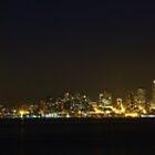 Seattle Skyline from Alki Beach, 10/09/2012 by VimanaVisual