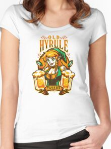 Old Hyrule Tavern Women's Fitted Scoop T-Shirt