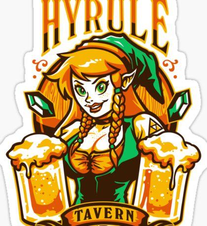 Old Hyrule Tavern Sticker