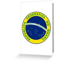 National Seal of Brazil  Greeting Card