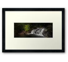 Unknown Falls Above Denny Framed Print