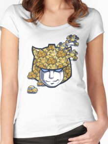 Bumble Tessellation Women's Fitted Scoop T-Shirt