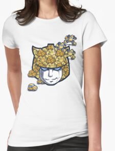 Bumble Tessellation Womens Fitted T-Shirt