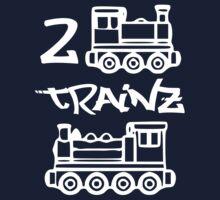 2 Trainz One Piece - Short Sleeve