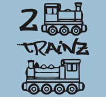 2 Trainz v2 One Piece - Short Sleeve