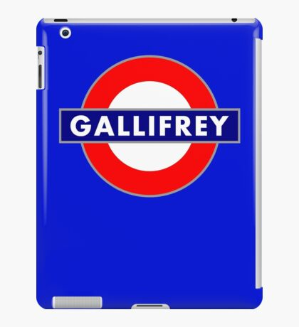 GALLIFREY METRO iPad Case/Skin
