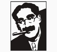 Marx Brothers - Groucho  by Slave UK