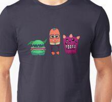 Dorky Monsters Unisex T-Shirt