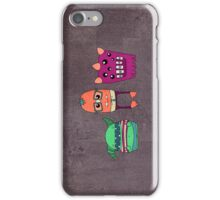Dorky Monsters iPhone Case/Skin