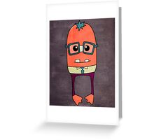 My Name is Oswald Greeting Card