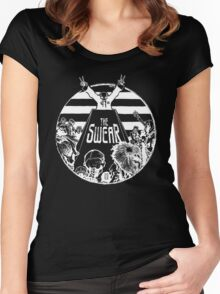 The Swear - Election Day of the Dead Women's Fitted Scoop T-Shirt