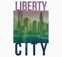 Liberty City Skyline #2 by slitheenplanet