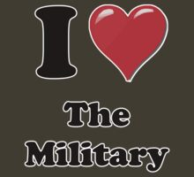 I Heart the Military by HighDesign