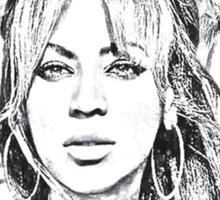 Beyonce - The eyes Sticker
