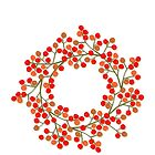 rowanberry wreath by demonique
