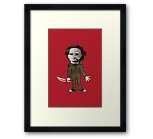 Michael from Halloween Framed Print